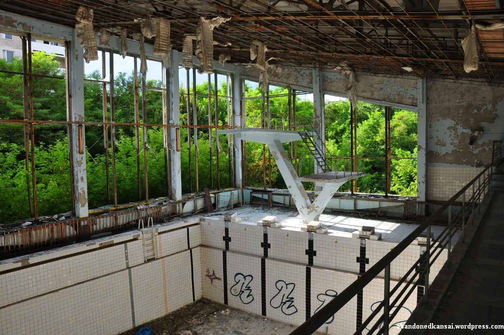 Swimming Pool Abandoned Kansai