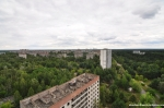 Breathtaking View Over Pripyat