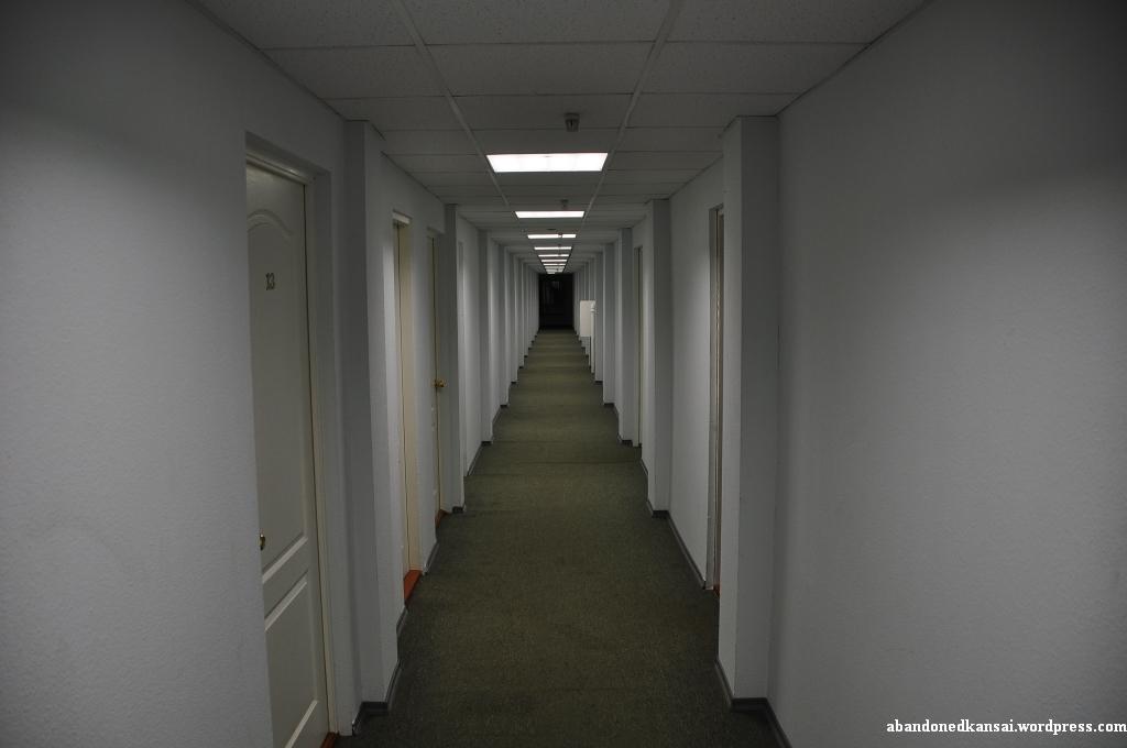 Chernobyl Hotel Hallway Abandoned Kansai
