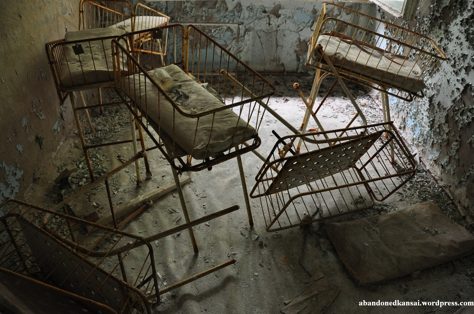 Zone Of Alienation Pripyat Hospital No 126 Abandoned