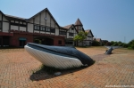 The Whale In Front Of The Entrance