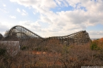 Nara Dreamland's Main Attraction The Aska Roller Coaster