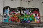 Monster Graffiti In The Former Auditorium