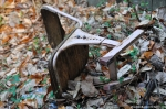 Abandoned Communist Chair