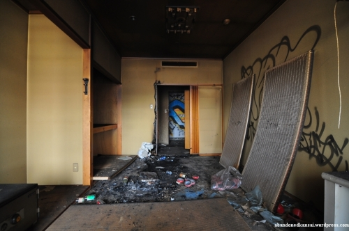 Burned Out Room - Standard In Abandoned Japanese Hotels