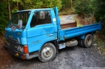 Blue Truck Blocking TheRoad