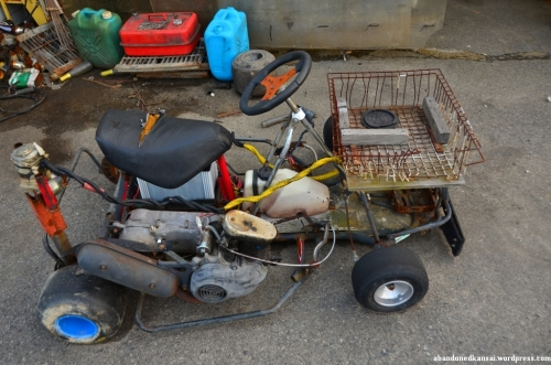 Mad Max Style Go-Kart