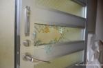 Broken Up Door