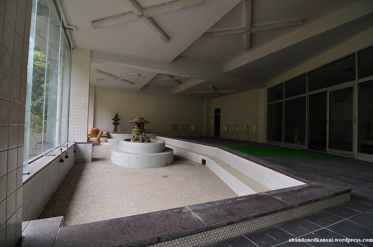 Abandoned Japanese Bath   Abandoned Kansai