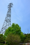 Tallest Electricity Pylon in Japan At 226 Meters - Part Of The Chushin Powerline Crossing
