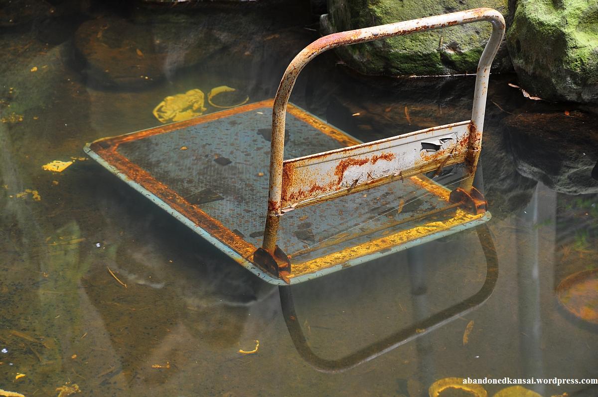 Indoor pond abandoned kansai restaurant kent good omen garden indoor pond workwithnaturefo