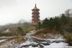 Snow Storm Pagoda