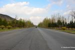 Empty Road Between Pyongyang And Kaesong