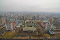 Juche Tower, East