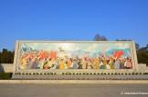 Kim Il-sung Speech, Propaganda Mosaic