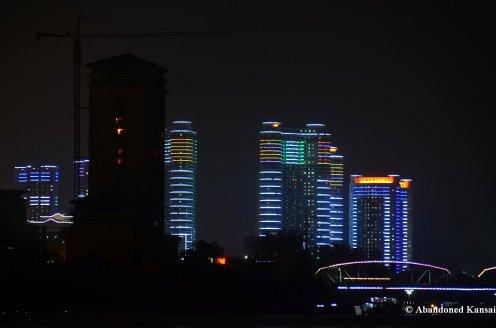Night Construction In Pyongyang