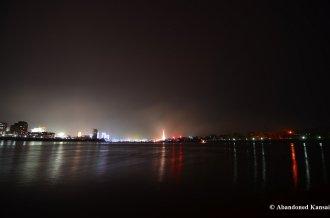 Pyongyang At Night