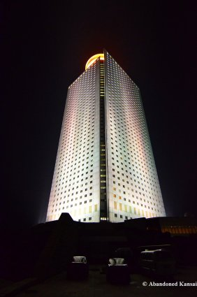 Yanggakdo International Hotel At Night