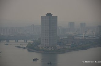 Yanggakdo International Hotel From Juche Tower