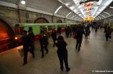 Busy Pyongyang Metro