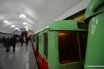 Busy Pyongyang Subway