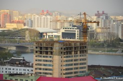 Construction in North Korea