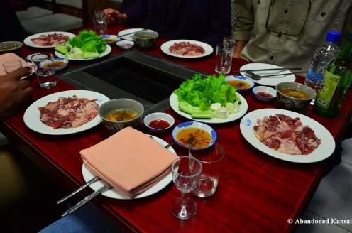 Duck BBQ, Pyongyang