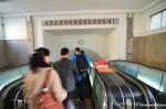 Entering Pyongyang Subway
