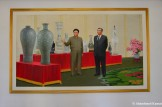 Kim Il-sung And Kim Jong-il Painting