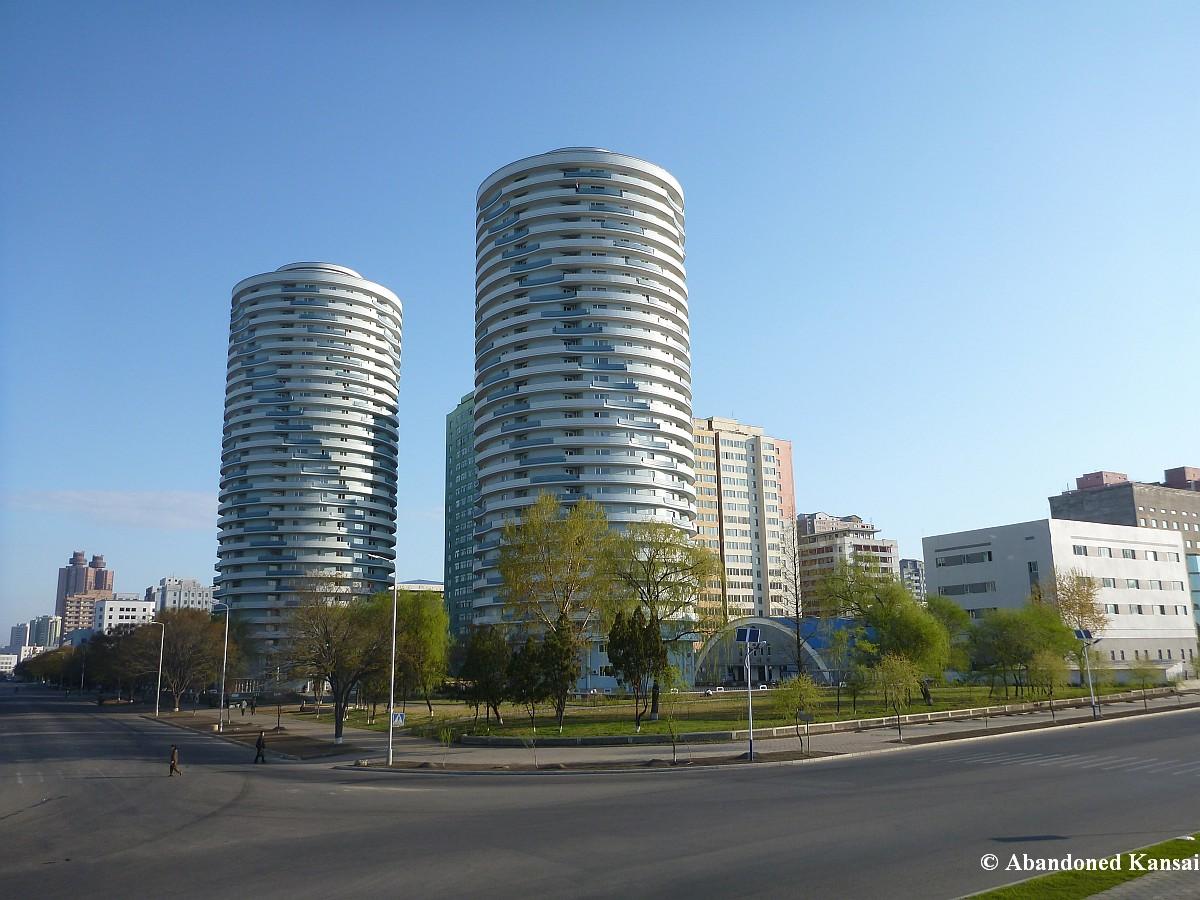 North Korea U2013 Pyongyang, Fun Run » Nice Apartment Building In Pyongyang Part 46