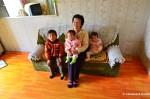 North Korean Grandma AndGrandchildren