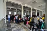 Pyongyang Train Station Waiting Room