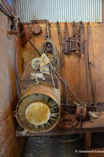 Rusty Mining Equipment