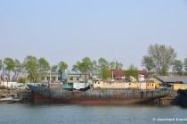 Rusty North Korean Ship