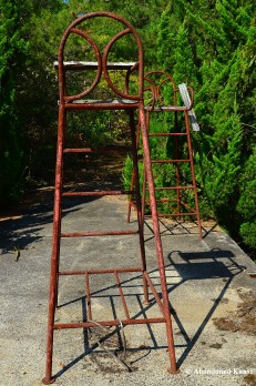 Rusty Umpire's Chair
