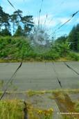 Broken Armoured Glas