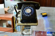 Abandoned Dial-Operated Telephone