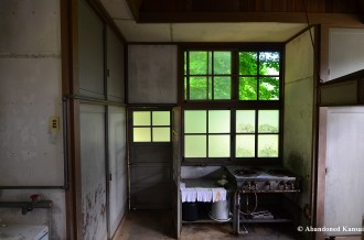 Abandoned School Kitchen