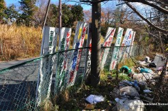 Old Signs Leading To Nara Dreamland
