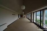 Abandoned University Hallway