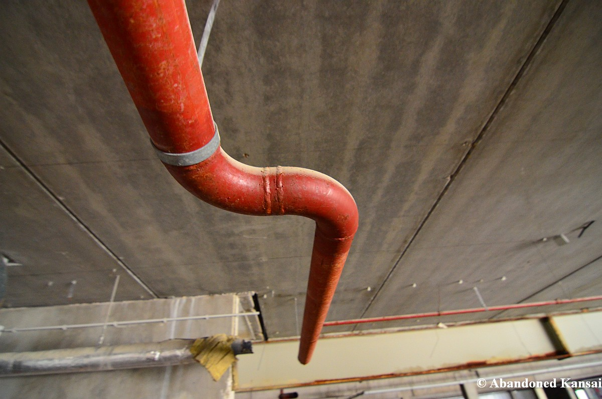 Ceiling Pipe Abandoned Kansai