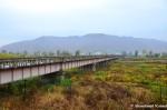 Border Crossing Between Tumen (China) and Namyang (NorthKorea)