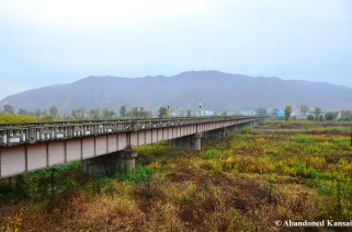 Border Crossing Between Tumen (China) and Namyang (North Korea)