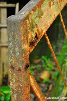 Rusty Handrail