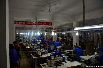Textile Factory In Rason, North Korea