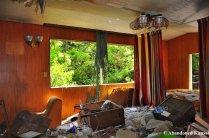 Trashed Onsen Room