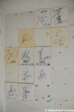 Abandoned Autographs