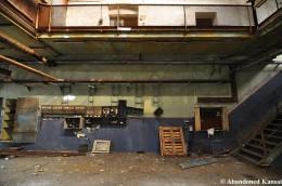 Abandoned Factory Work Floor