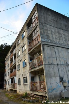 Abandoned Japanese Apartment Building