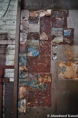 Abandoned Postcard Wall